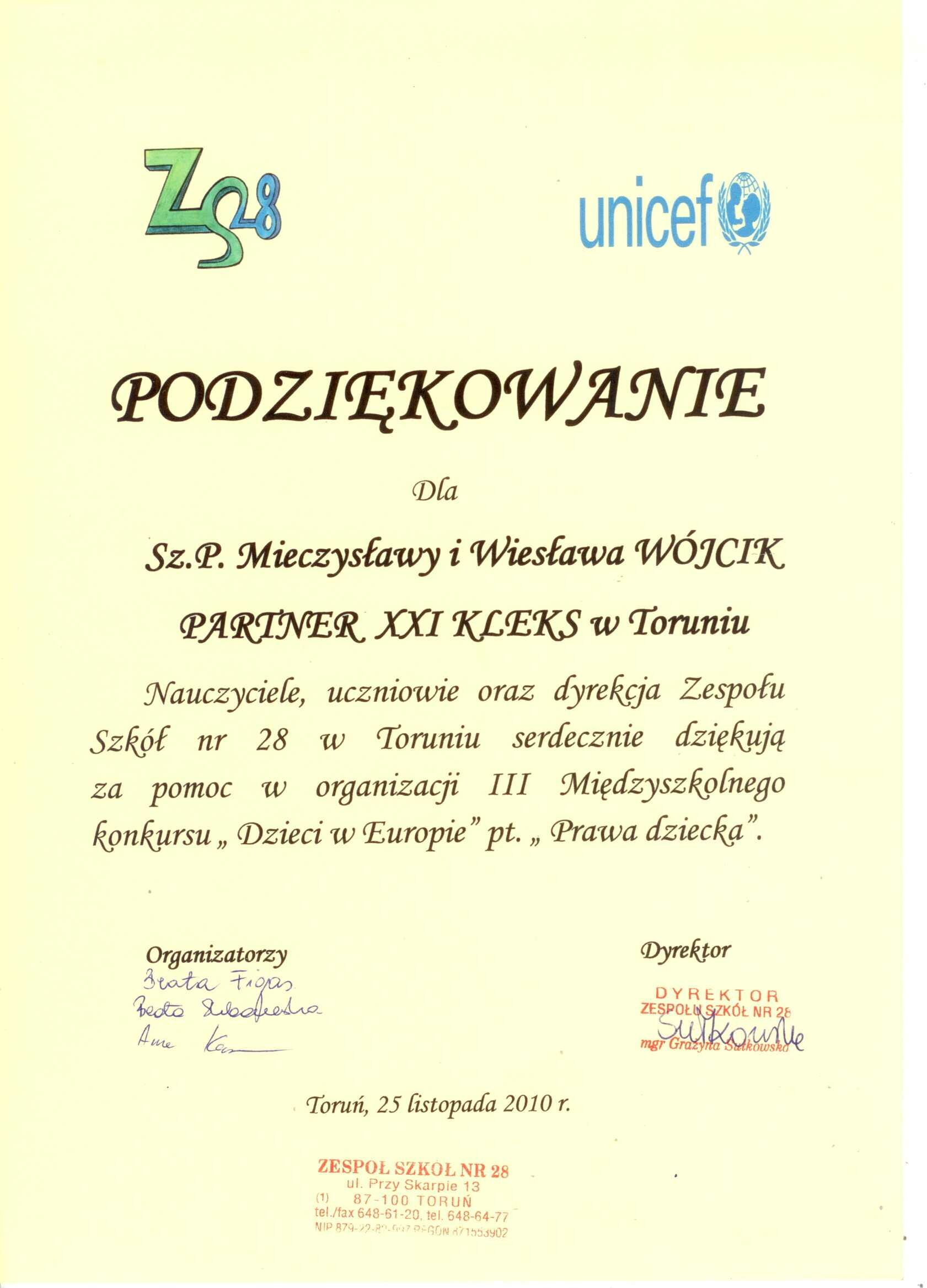 Unicef 2010