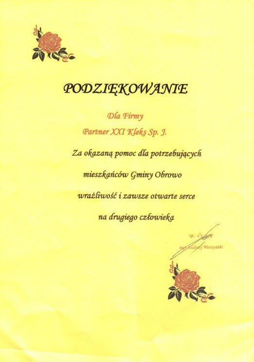 gmina Obrowo 2013
