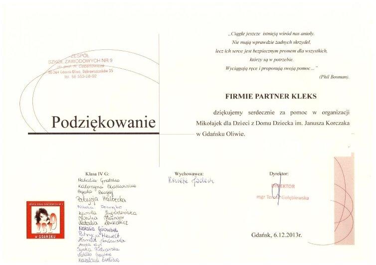 Dom Dziecka Gdańsk 2013