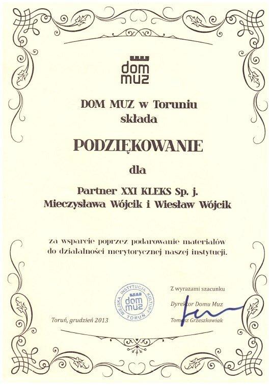 Dom Muz 2013