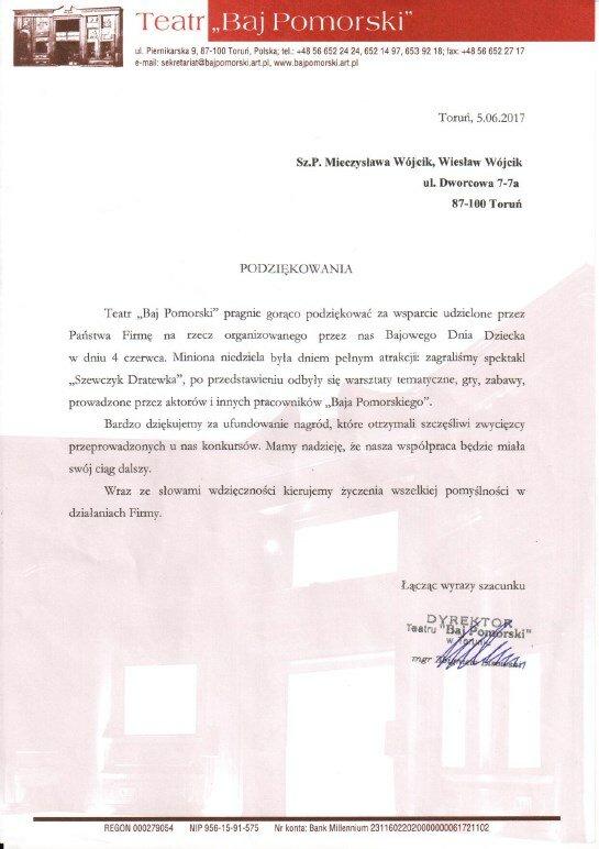 2017 Dzień Dziecka w Baju Pomorskim