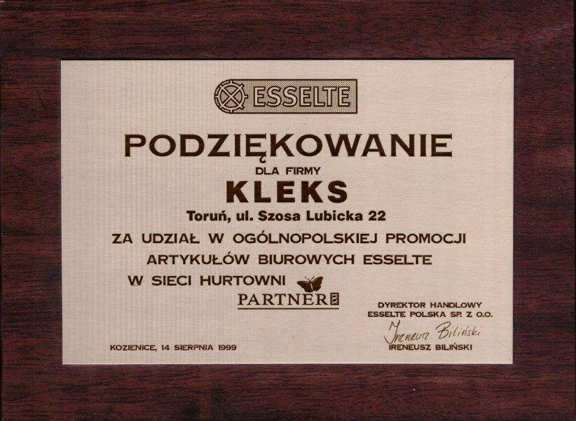 1999 Esselte