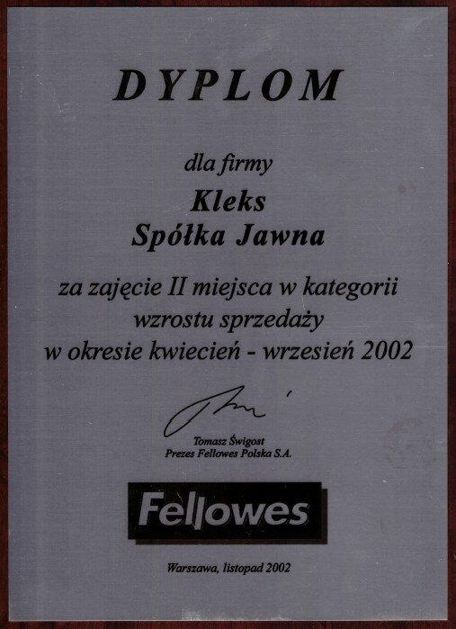 2002 Fellowes