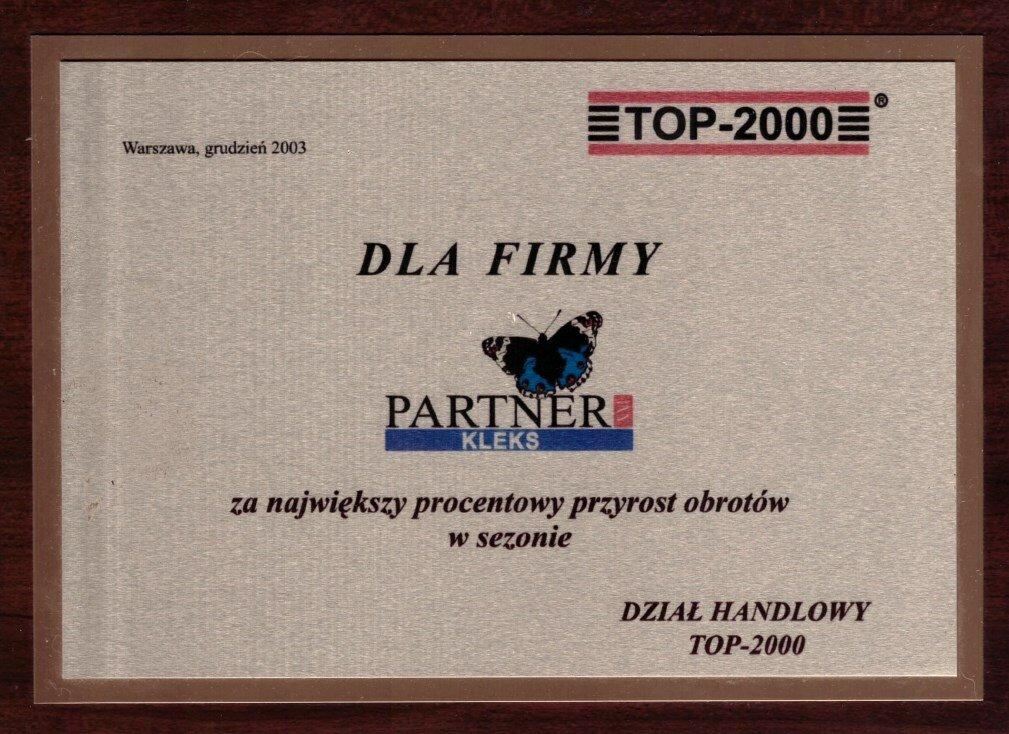 2003 - TOP2000