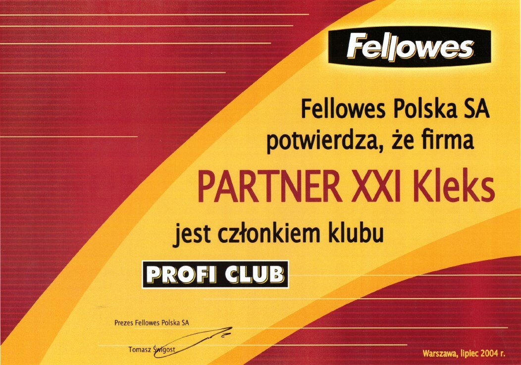 2004 Fellowes