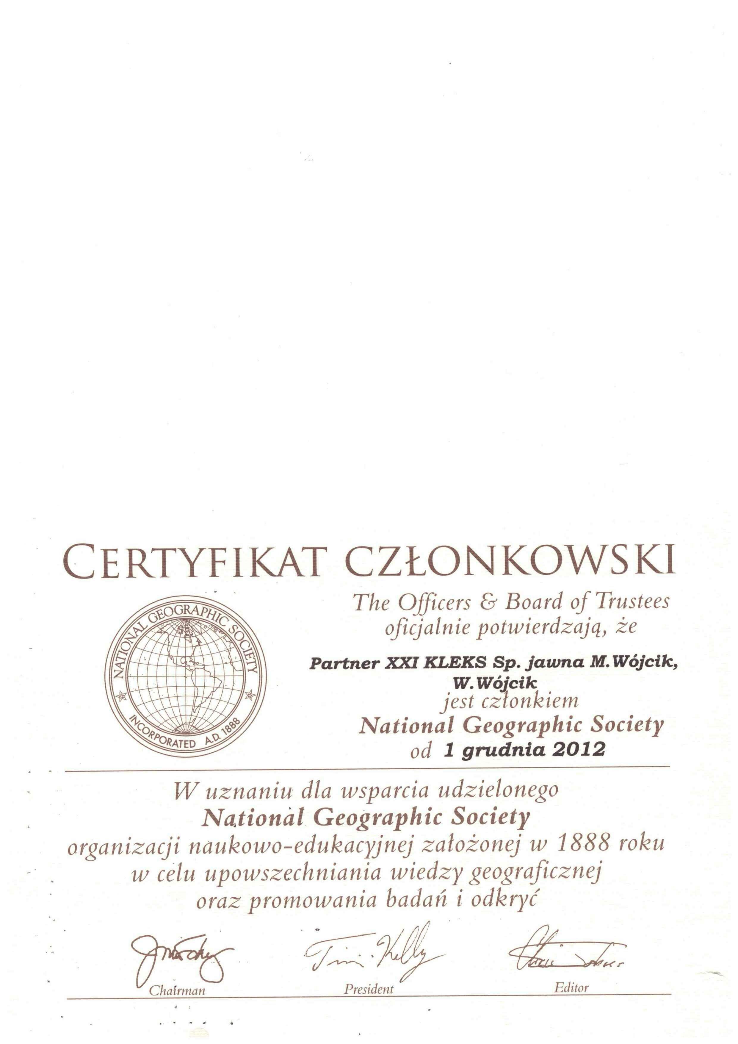 National Geografic Society