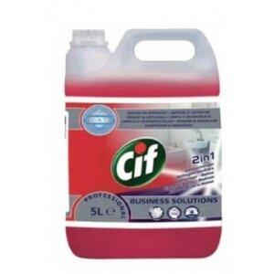 CIF PROFESSIONAL WASHROOM 2IN1 5L ***7518652*