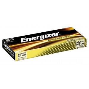 BATERIA ENERGIZER INDUSTRIAL AAA LR03 OP=10SZT   ---KAT.
