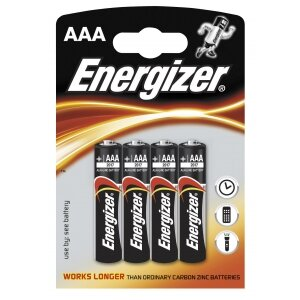 BATERIA ENERGIZER ALK. CLASSIC LR03/4 OP=4SZT.   ---KAT.