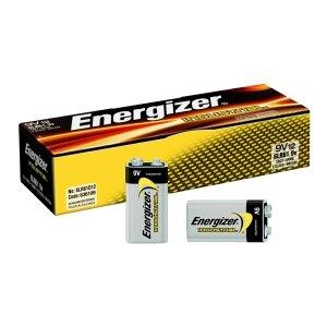BATERIA ENERGIZER ALK. INDUSTRIAL 9V 6LR61/6F22  OP=12SZT   ---KAT.